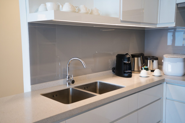 Small Kitchen Design with Appliances