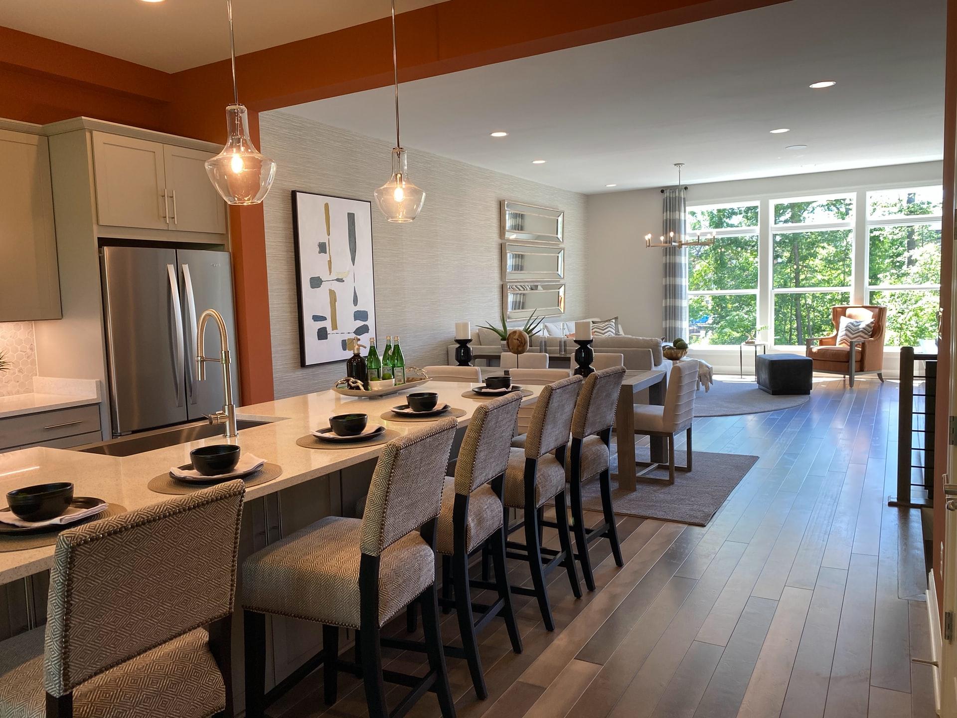 Outdoor Indoor Kitchen