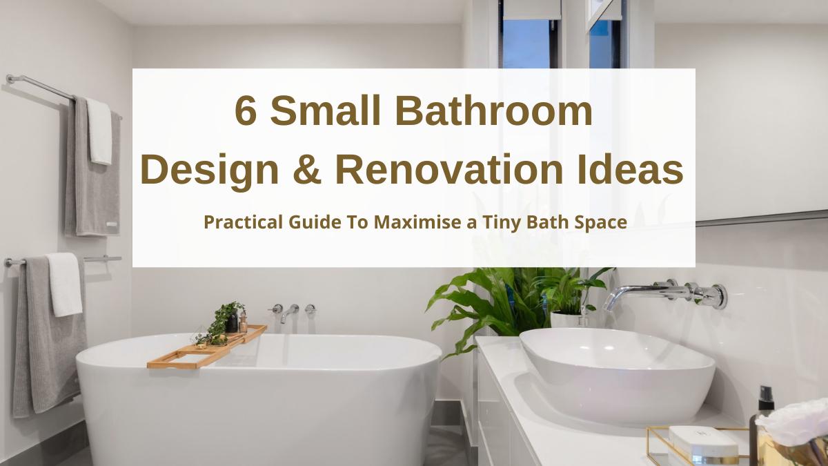 Small Bathroom Space Ideas